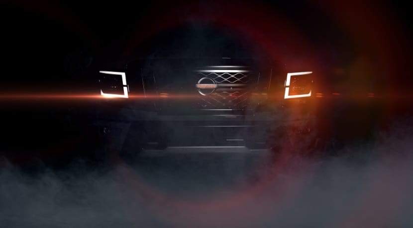 Nissan Titan PRO-4X Teaser