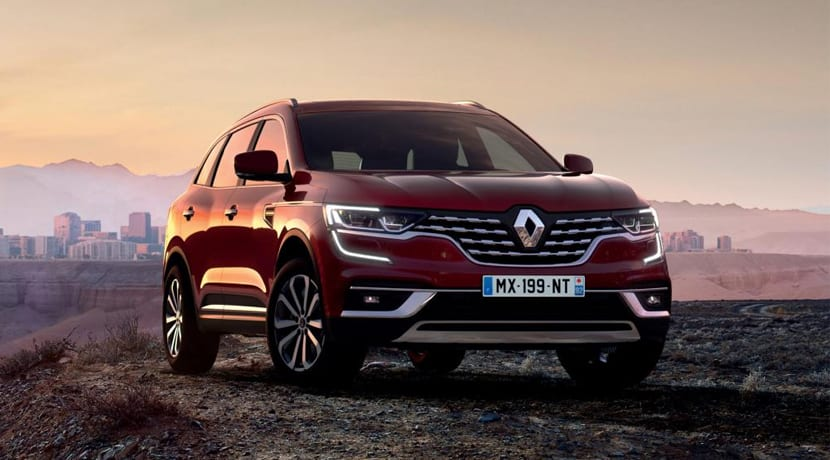 Renault Koleos Facelift Frontal
