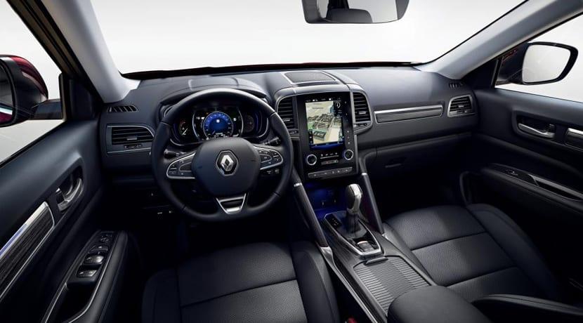 Renault Koleos Facelift Interior