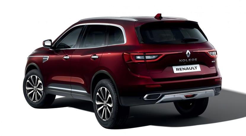 Renault Koleos Facelift Trasera