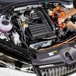 Skoda Superb iV PHEV engine