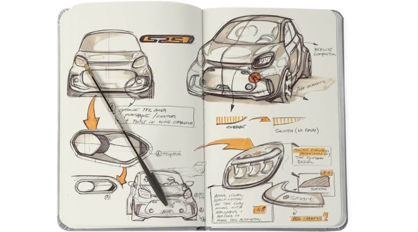 Smart ForTwo - ForFour teasers