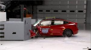 Tesla Model 3 TOP SAFETY PICK +