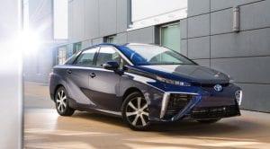 Toyota Mirai frontal