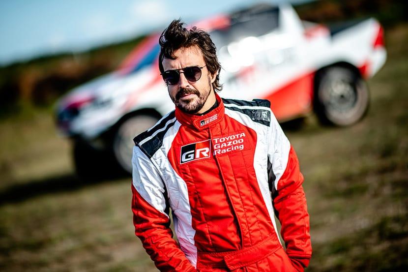 Fernando Alonso Toyota Gazoo Team