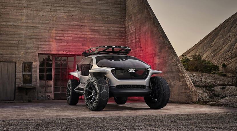 Audi Al:Trail prototipo frontal