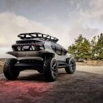 Audi Al:Trail prototipo perfil trasero