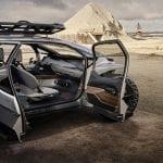 Audi Al:Trail prototipo puertas abiertas