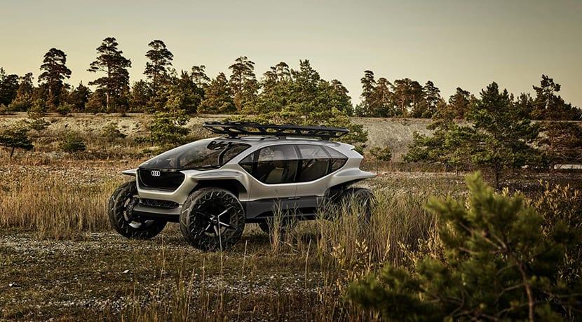 Audi Al:Trail prototipo perfil