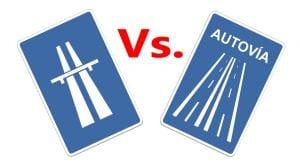 Diferencia entre autopista y autovía