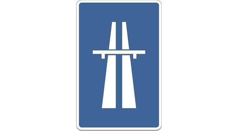 Señal de autopista