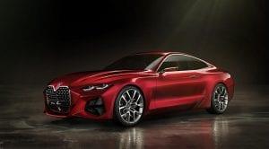 BMW 4 Concept perfil delantero