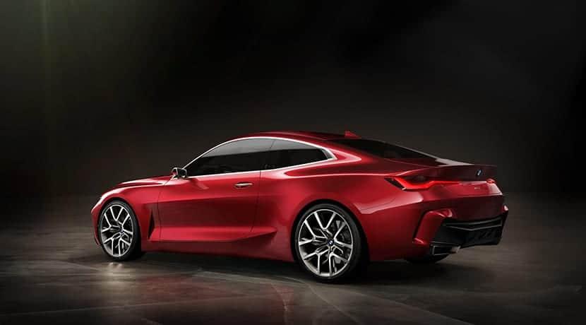 BMW 4 Concept perfil trasero