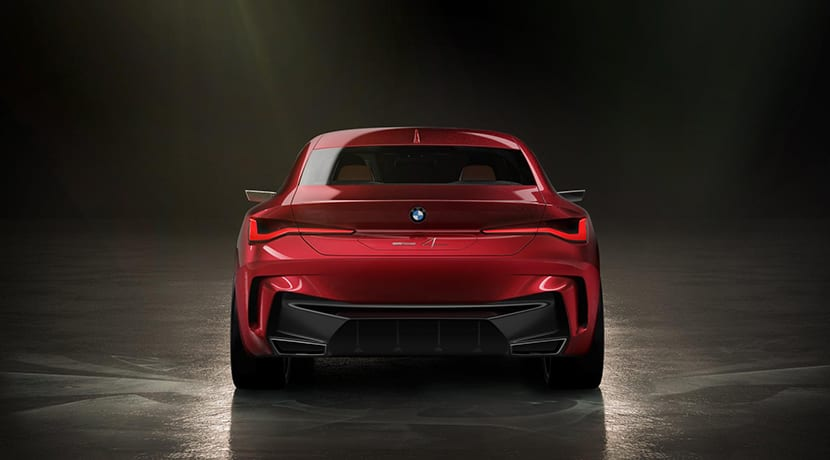 BMW 4 Concept trasera