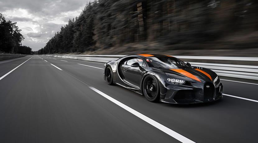 Bugatti Chiron récord 300 millas por hora