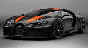 Bugatti Chiron Super Sport +300 delantera