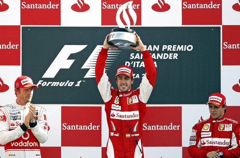 Fernando Alonso victoria de Monza con Ferrari