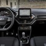 Interior del Ford Fiesta