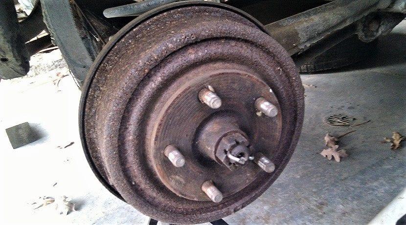 Tambor oxidado