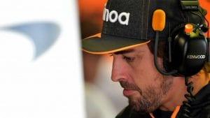 Fernando Alonso en el GP de Italia de F1 2019