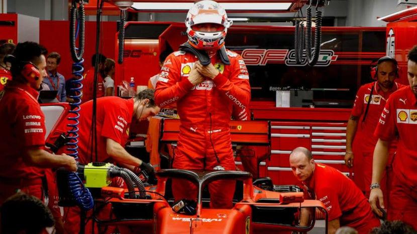 Charles Leclerc F1 2019 - GP Singapur