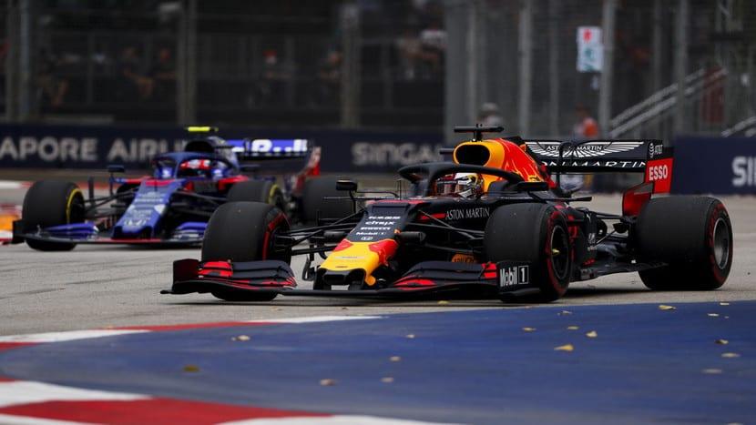 Red Bull en Singapur 2019