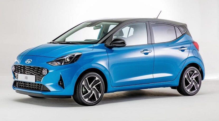 Hyundai i10 2020 versión normal