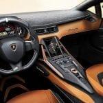 Interior del Lamborghini Sian