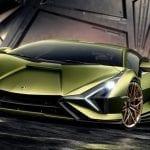 Frontal del Lamborghini Sian