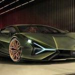 Luces del Lamborghini Sian