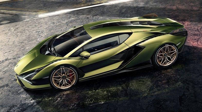 Lamborghini Sian híbrido