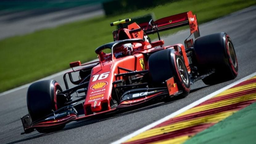 GP de Bélgica: Leclerc en el Ferrari 2019