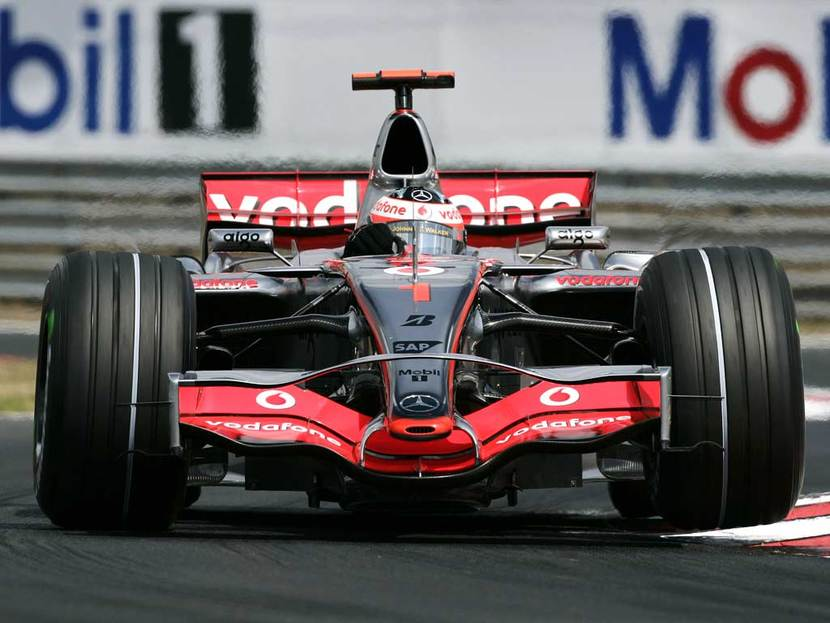 McLaren-Mercedes de Alonso en 2007