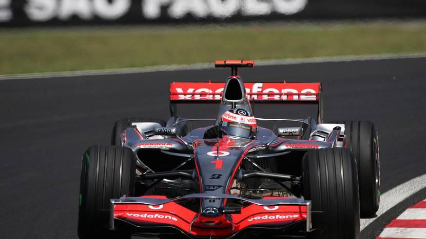McLaren-Mercedes de Alonso 2007