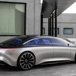 Mercedes-Benz Vision EQS Concept lateral