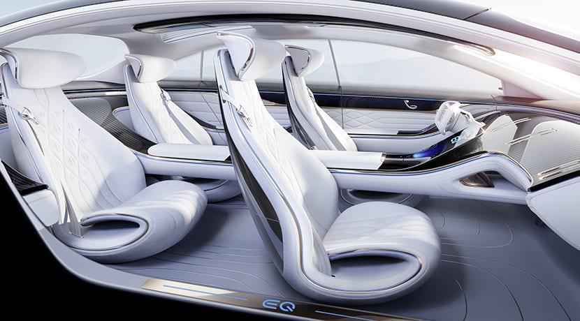 Mercedes-Benz Vision EQS Concept interior