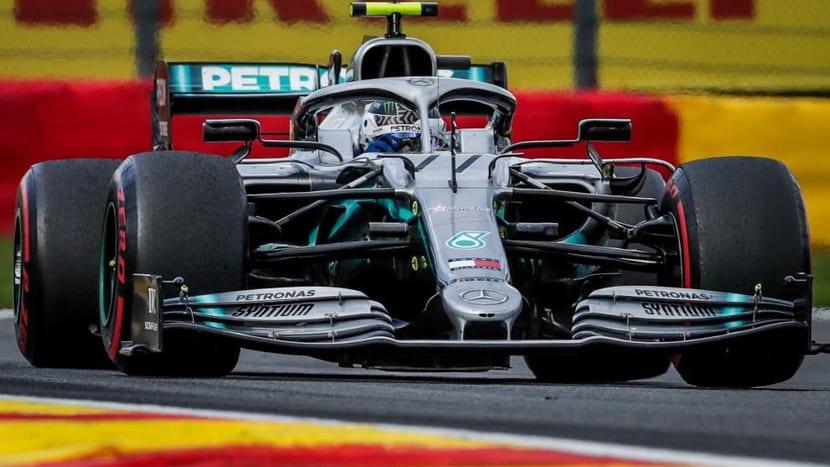 Mercedes en el GP de Italia 2019