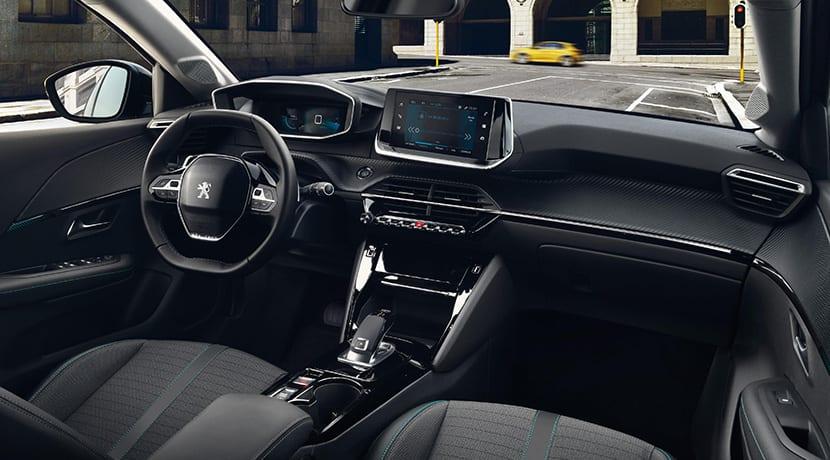 Interior del Peugeot 208