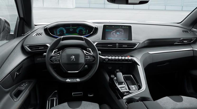 Peugeot 3008 GT Hybrid4 interior