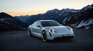 Faros del Porsche Taycan