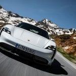 Frontal del Porsche Taycan
