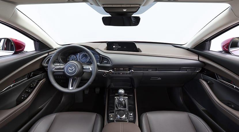 Prueba Mazda CX-30 interior