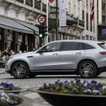 Prueba Mercedes EQC lateral