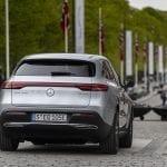 Prueba Mercedes EQC parte trasera