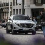 Prueba Mercedes-Benz EQC frontal