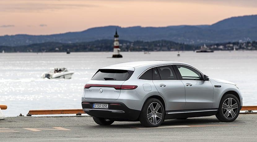 Prueba Mercedes EQC