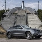 Prueba Mercedes-Benz EQC AMG esquina delantera