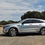 Prueba Mercedes-Benz EQC lateral