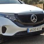 Prueba Mercedes-Benz EQC calandra