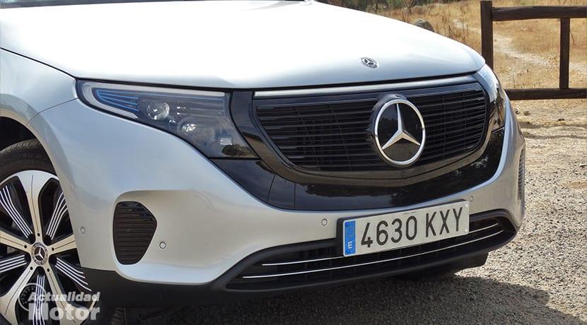 Mercedes-Benz EQC parrilla delantera